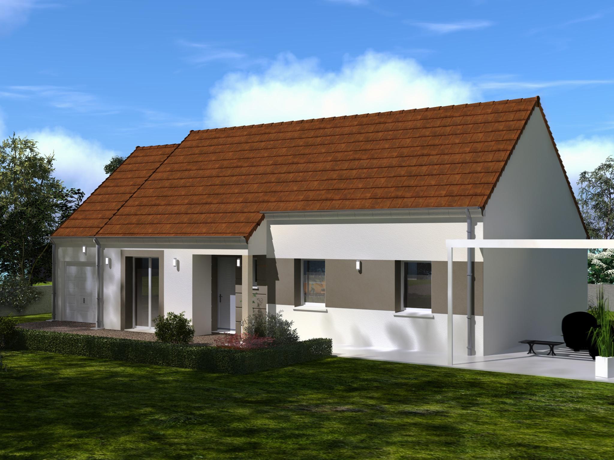 Maisons + Terrains du constructeur Les Maisons Lelievre • 84 m² • NOGENT LE PHAYE