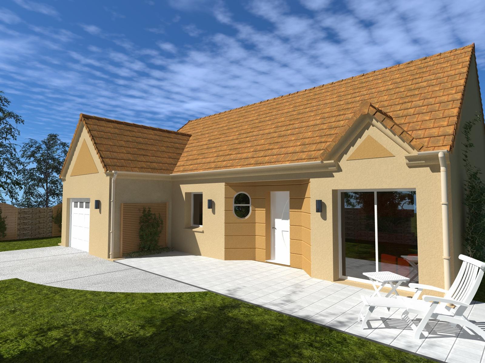 Maisons + Terrains du constructeur Les Maisons Lelievre • 85 m² • LA CHAPELLE DU NOYER
