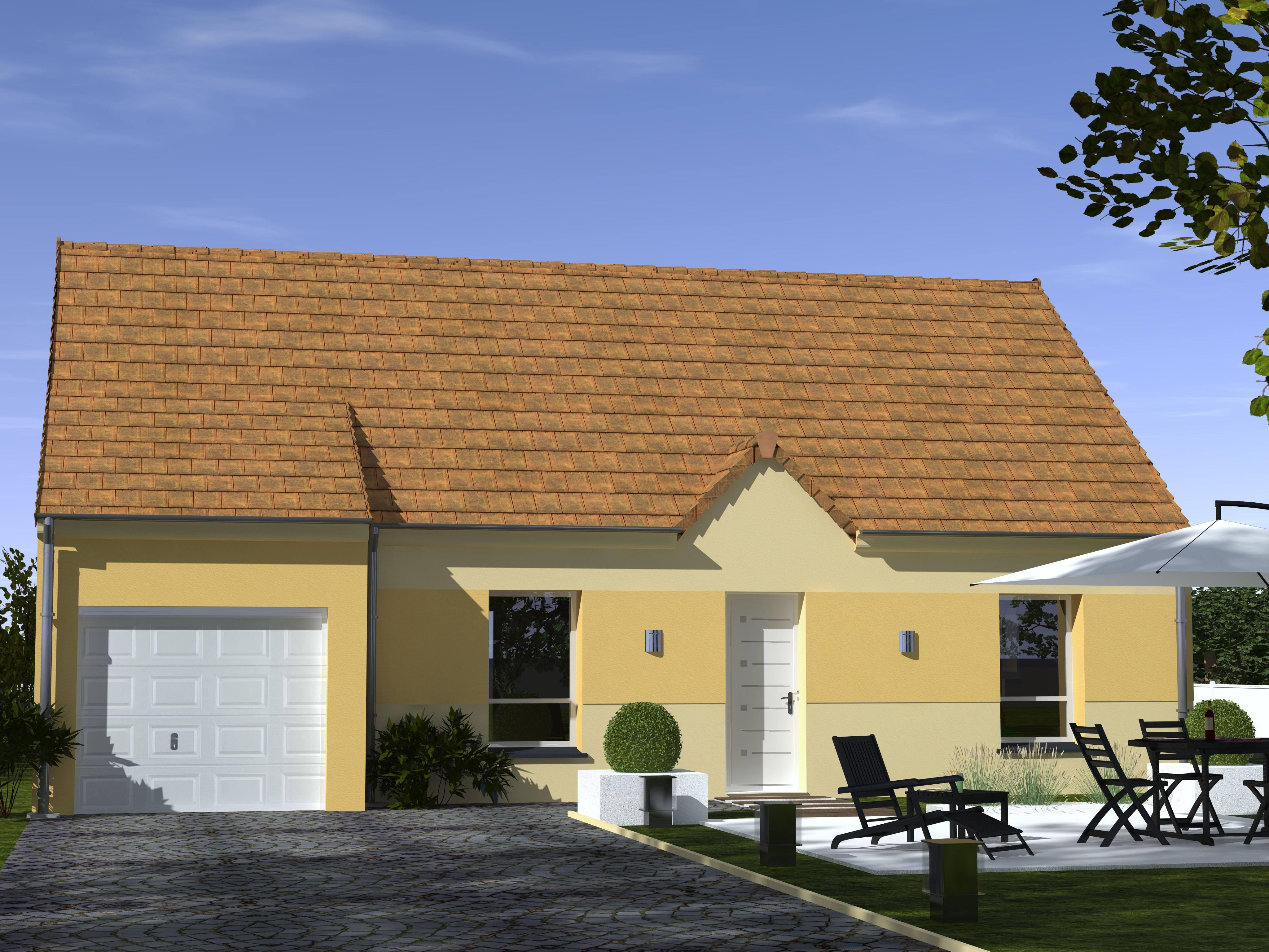 Maisons + Terrains du constructeur Les Maisons Lelievre • 77 m² • ILLIERS COMBRAY