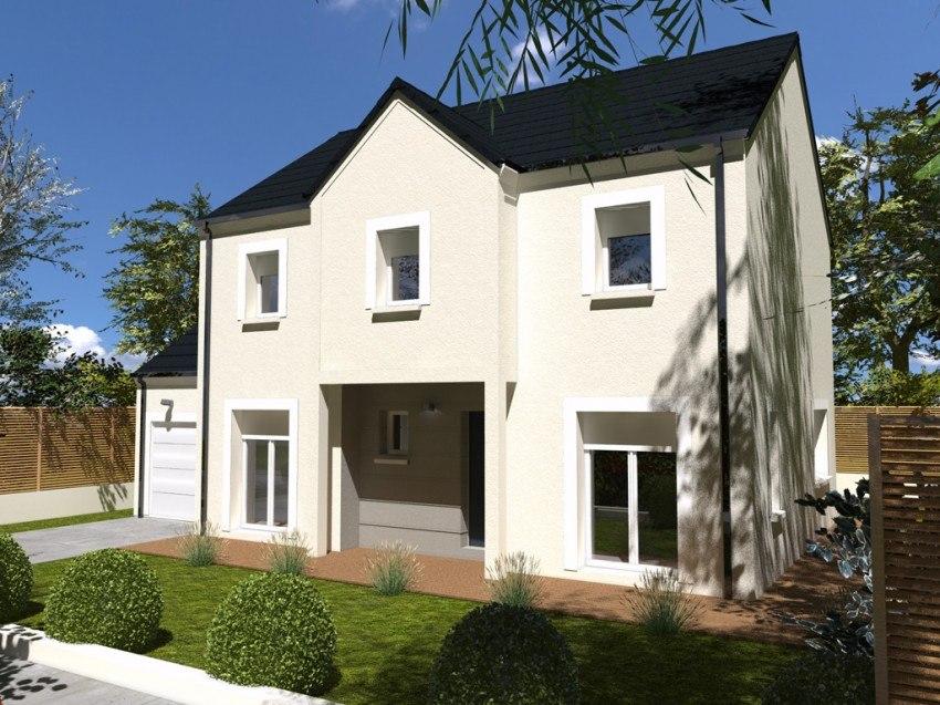 Maisons + Terrains du constructeur Les maisons Lelievre • 130 m² • VAUX SUR SEINE