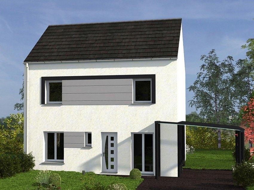 Maisons + Terrains du constructeur Les maisons Lelievre • 101 m² • VAUX SUR SEINE