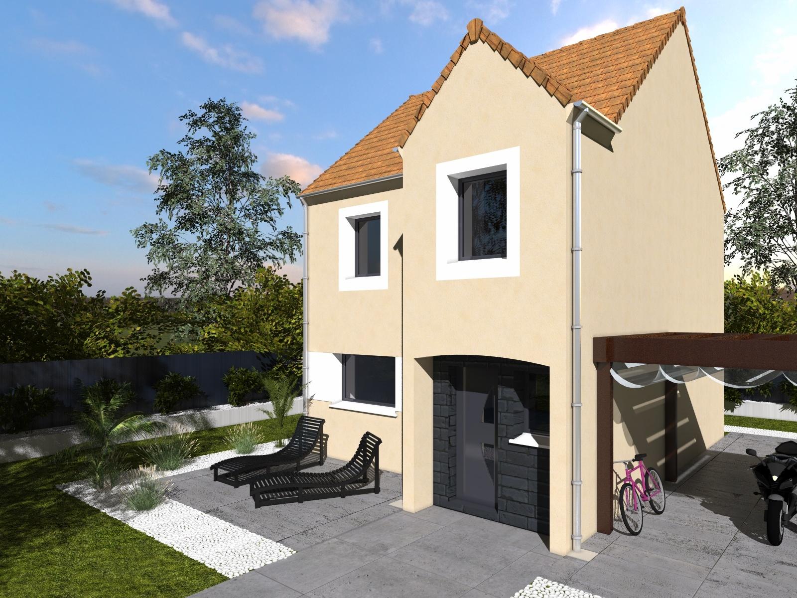 Maisons + Terrains du constructeur Les maisons Lelievre • 86 m² • TAVERNY