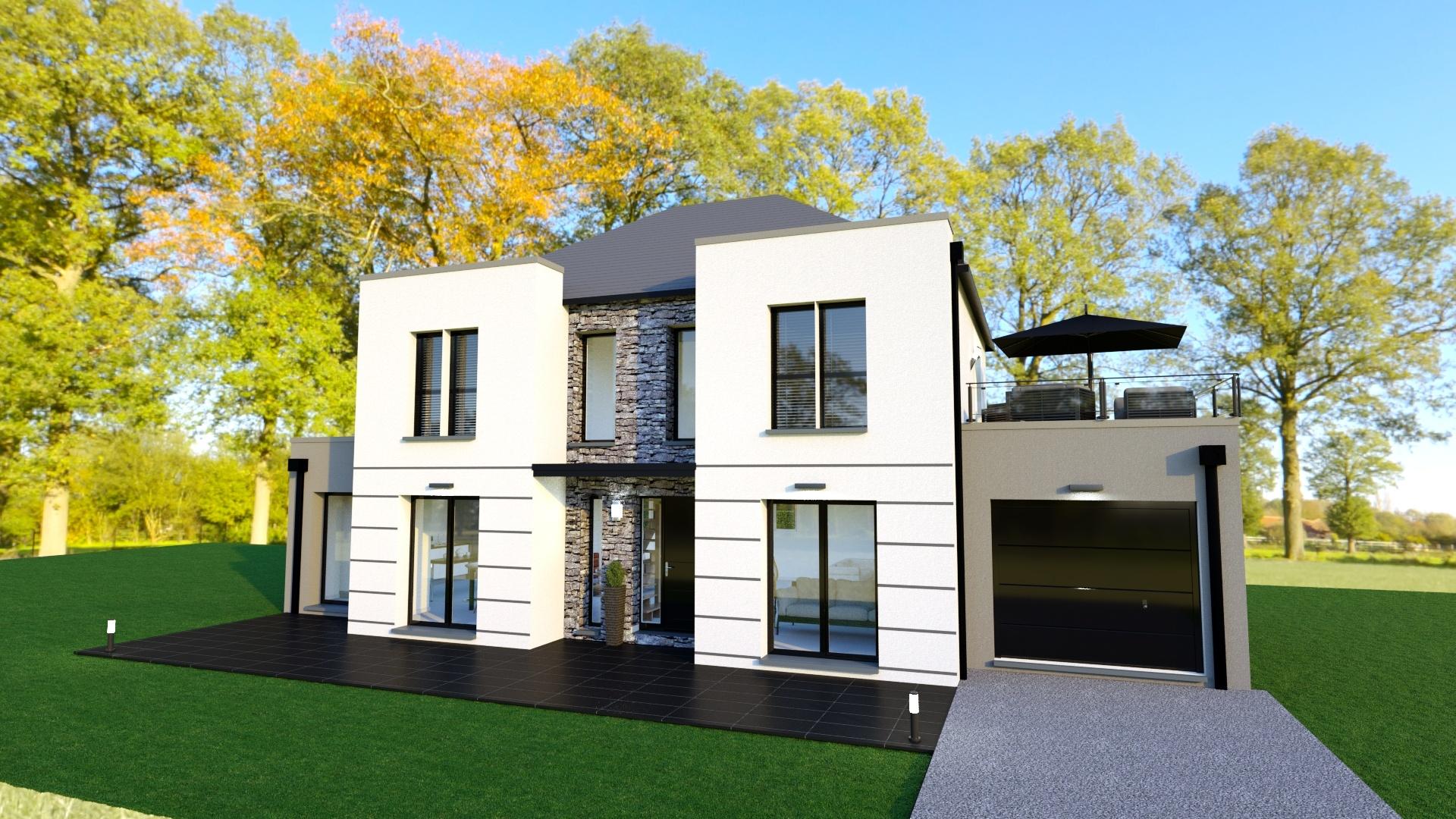 Terrains du constructeur Les maisons Lelievre • 330 m² • BEAUCHAMP