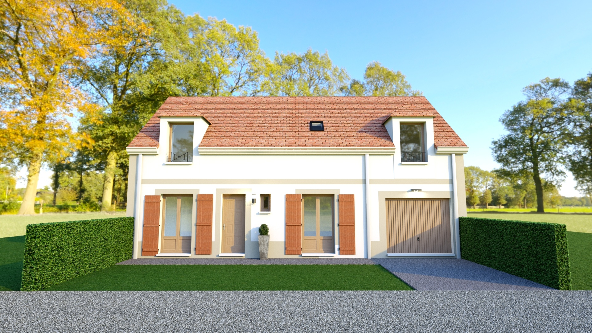 Terrains du constructeur Les maisons Lelievre • 501 m² • MARINES