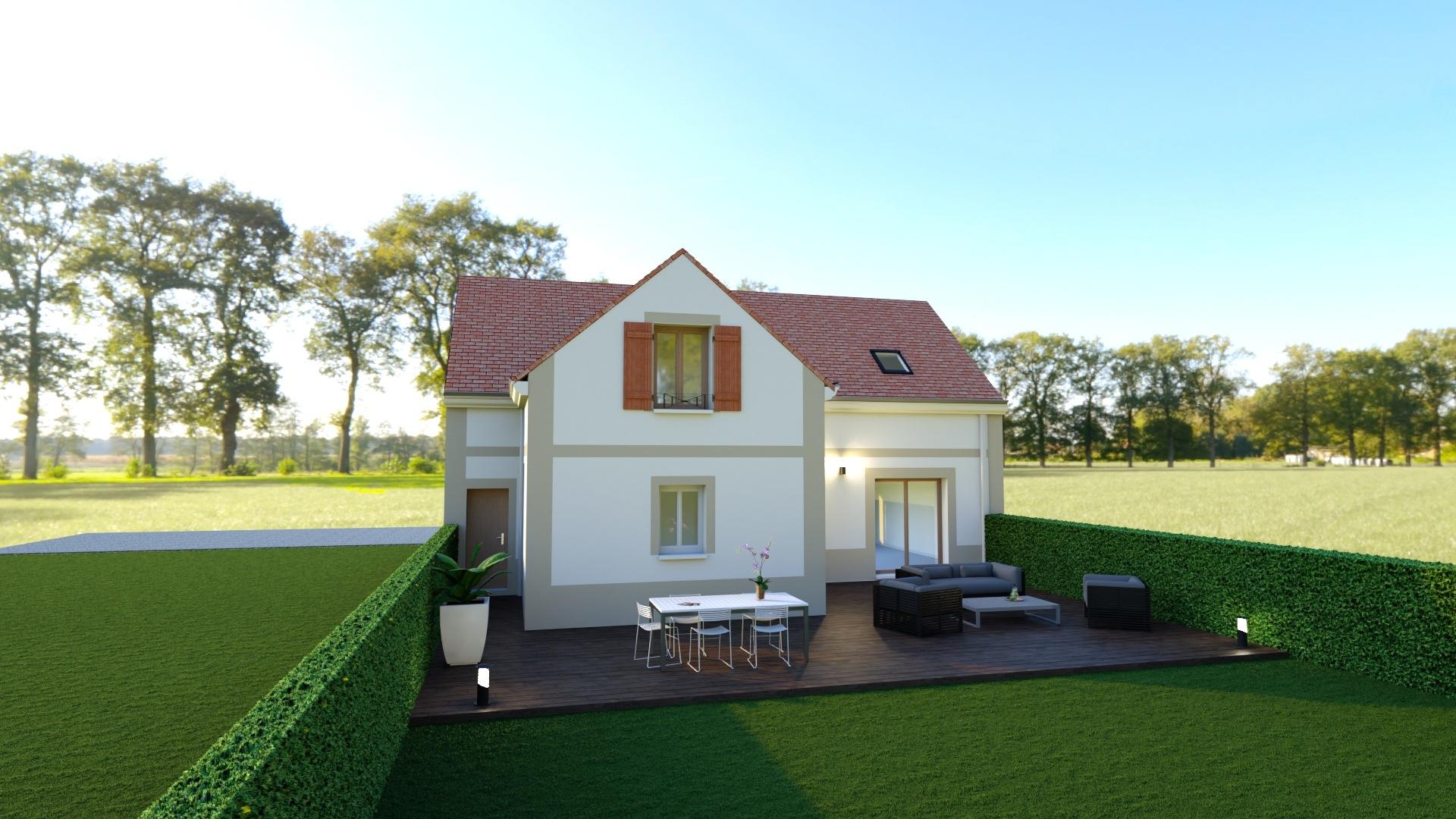 Maisons + Terrains du constructeur Les maisons Lelievre • 131 m² • MARINES