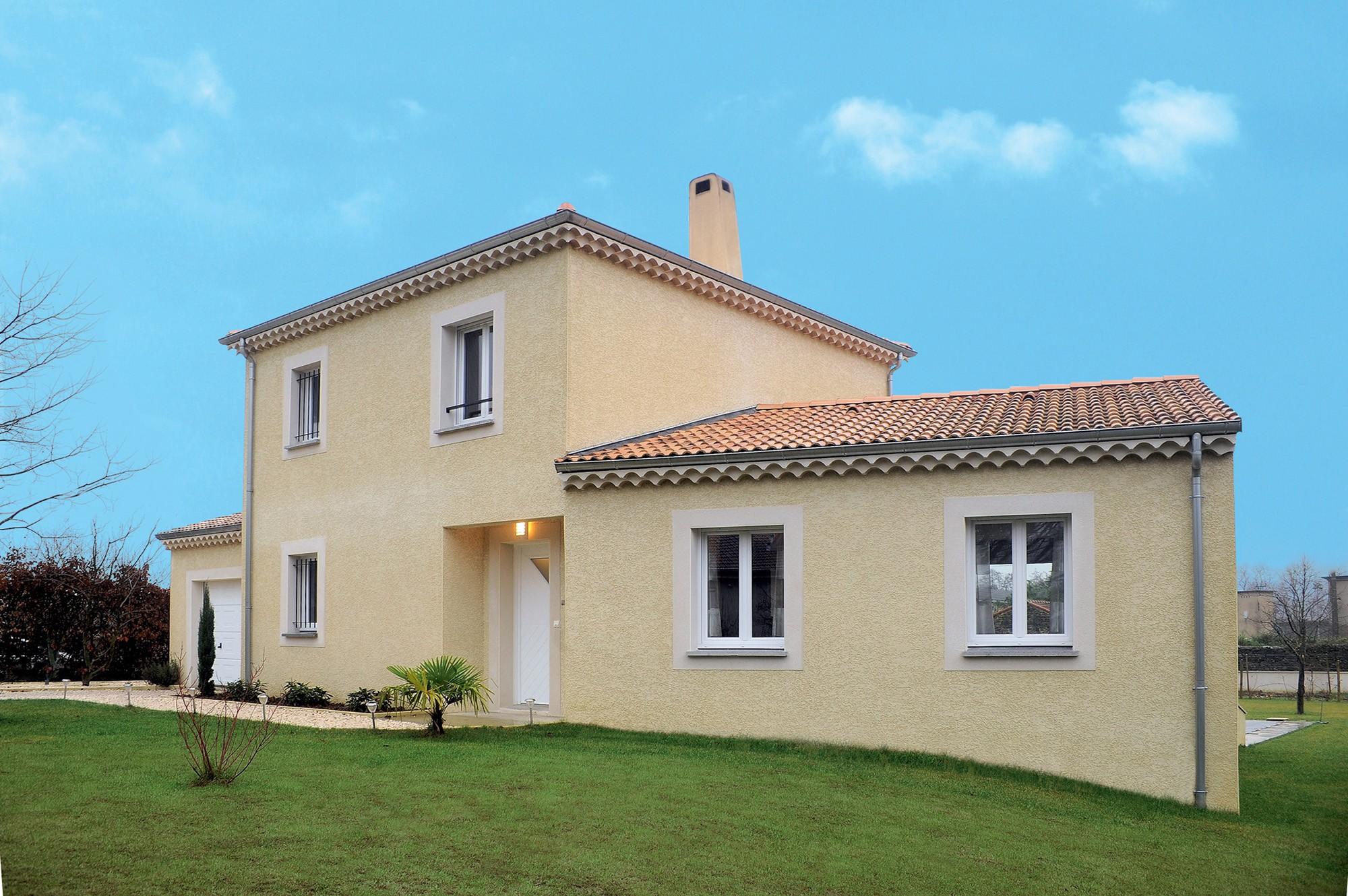 Maisons + Terrains du constructeur Maison Familiale • 130 m² • ANGLES
