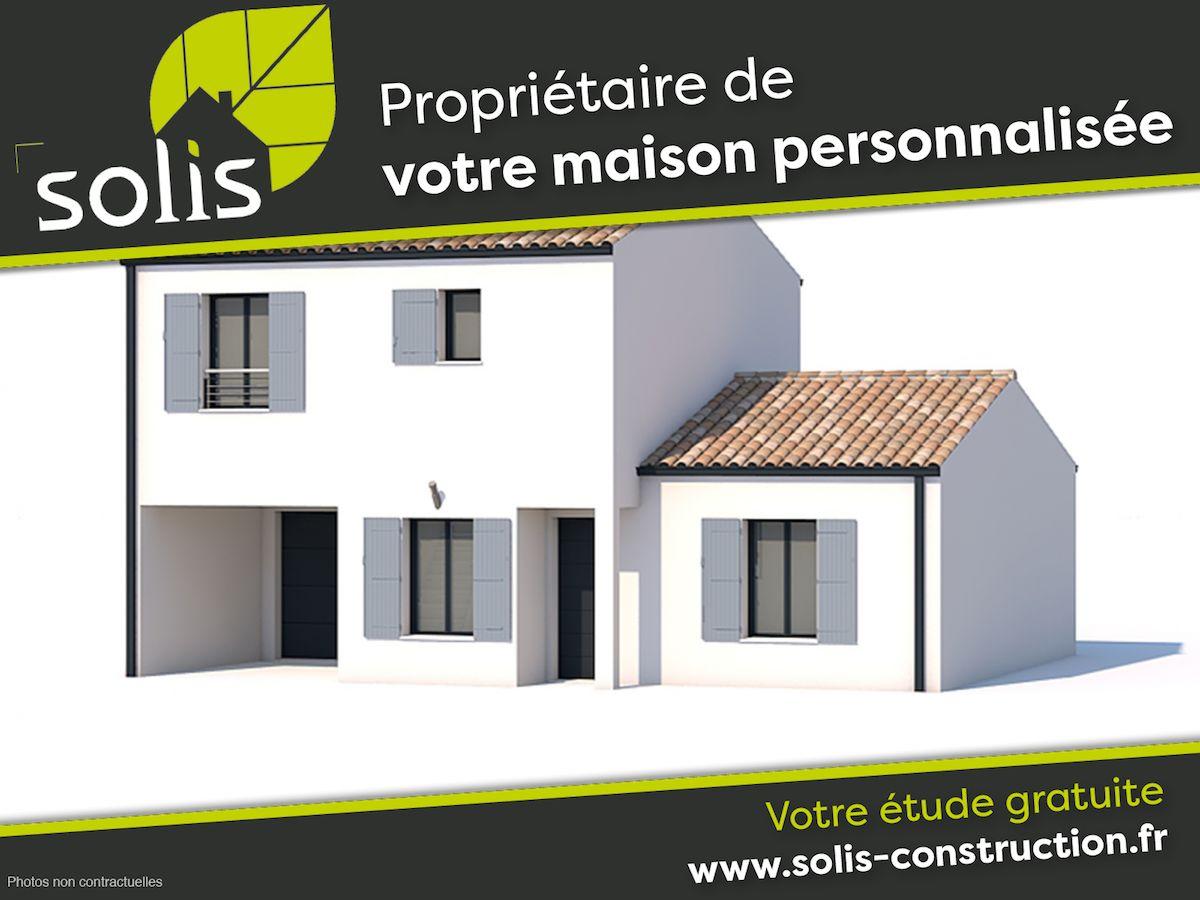 Maisons du constructeur SOLIS CONSTRUCTION - AGENCE DE SAINTES • 126 m² • SAINT PORCHAIRE