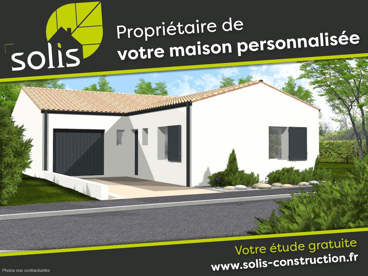 Maisons du constructeur SOLIS CONSTRUCTION - AGENCE DE SAINTES • 99 m² • SAUJON