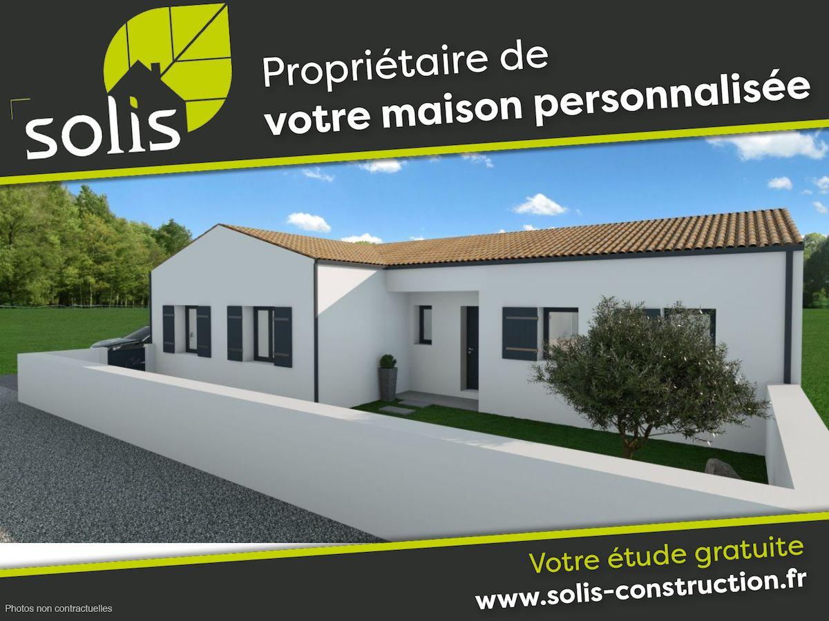 Maisons du constructeur SOLIS CONSTRUCTION - AGENCE DE SAINTES • 109 m² • SAUJON