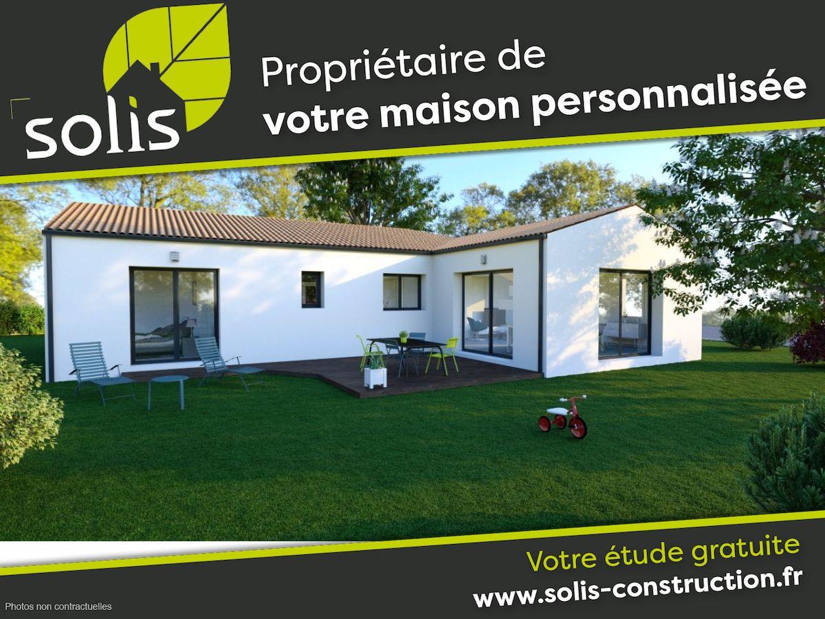 Maisons du constructeur SOLIS CONSTRUCTION - AGENCE DE SAINTES • 105 m² • SAINTES