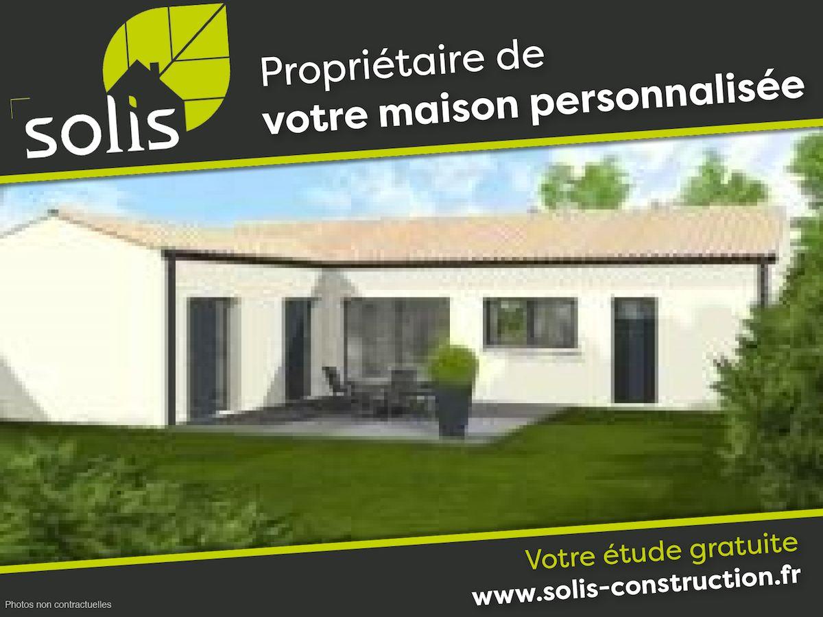 Maisons du constructeur SOLIS CONSTRUCTION - AGENCE DE SAINTES • 110 m² • SAINTES