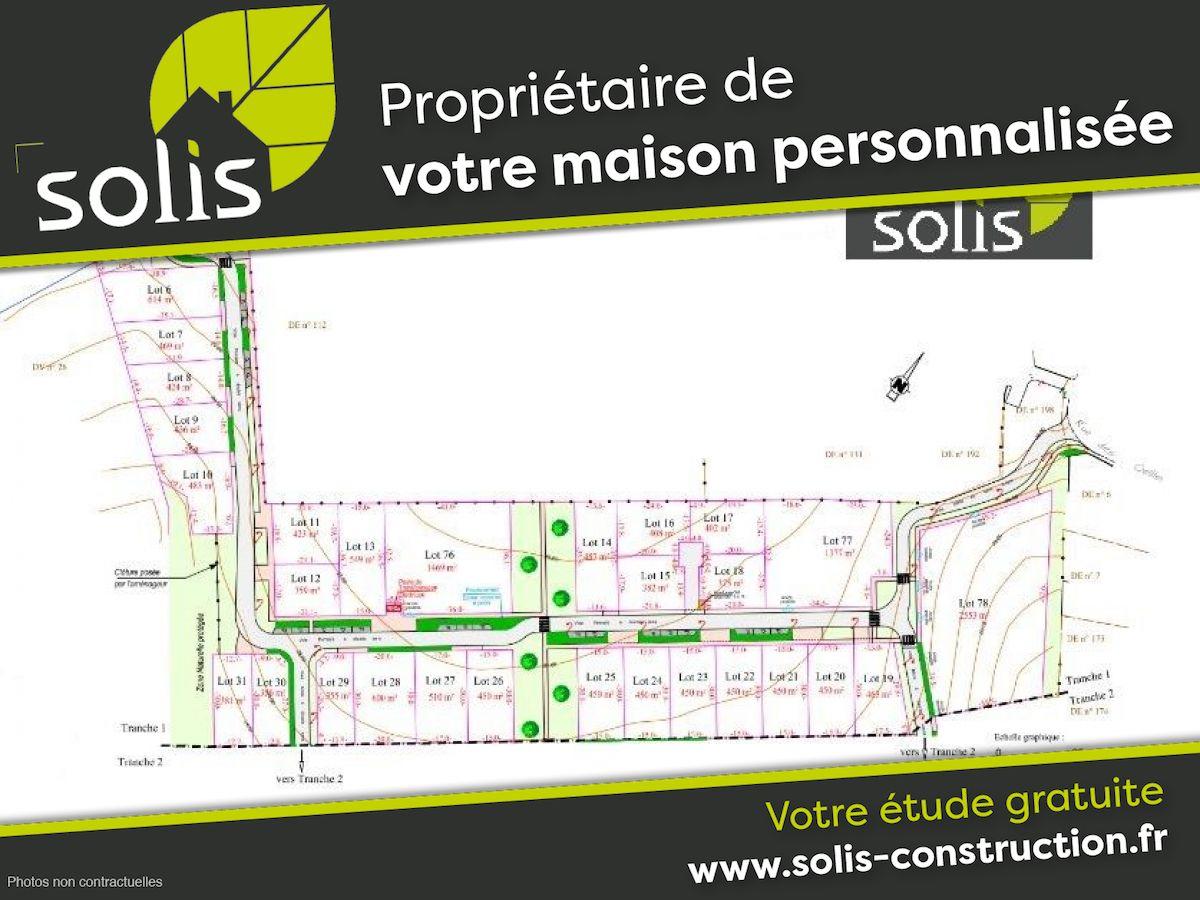 Terrains du constructeur SOLIS CONSTRUCTION - AGENCE DE SAINTES • 402 m² • SAINTES