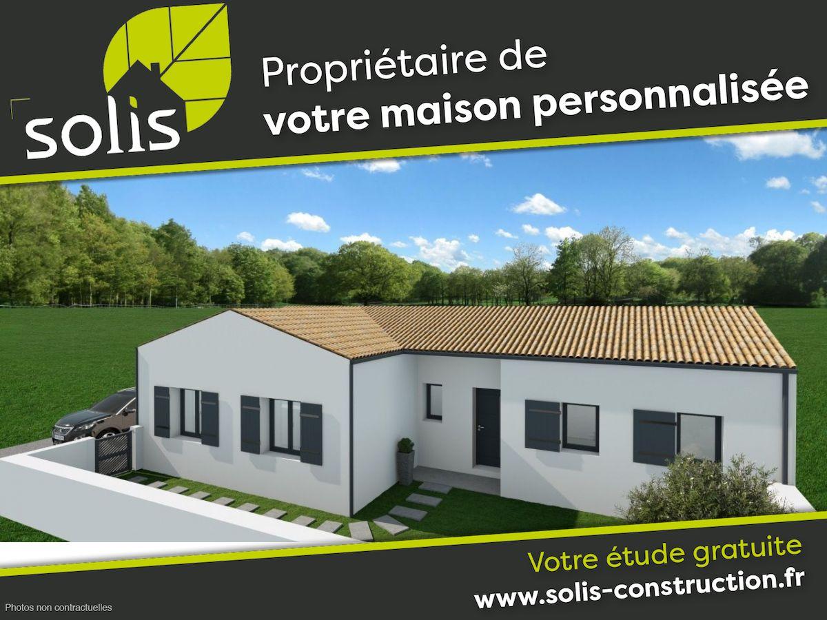 Maisons du constructeur SOLIS CONSTRUCTION - AGENCE DE SAINTES • 109 m² • LA CHAPELLE DES POTS
