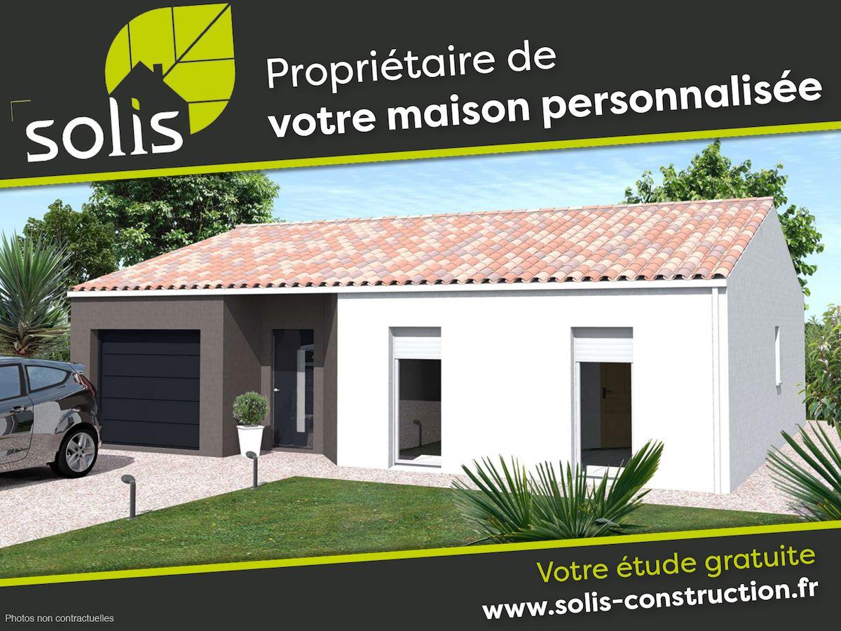 Maisons du constructeur SOLIS CONSTRUCTION - AGENCE DE SAINTES • 85 m² • SAINT GEORGES DES COTEAUX