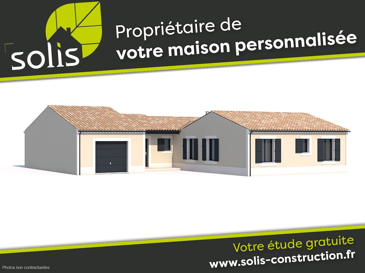Maisons du constructeur SOLIS CONSTRUCTION - AGENCE DE SAINTES • 138 m² • SAINTES