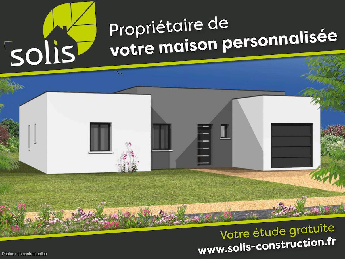 Maisons du constructeur SOLIS CONSTRUCTION - AGENCE DE SAINTES • 111 m² • SAINT GEORGES DES COTEAUX
