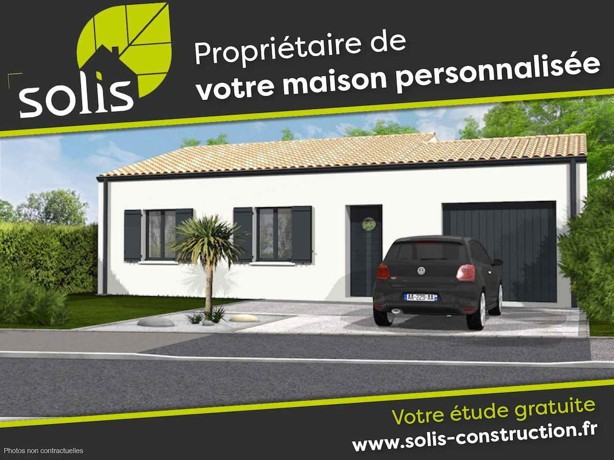 Maisons du constructeur SOLIS CONSTRUCTION - AGENCE DE SAINTES • 85 m² • SAINTES