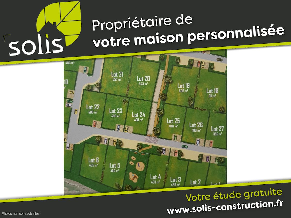 Terrains du constructeur SOLIS CONSTRUCTION - AGENCE DE SAINTES • 356 m² • LA CHAPELLE DES POTS