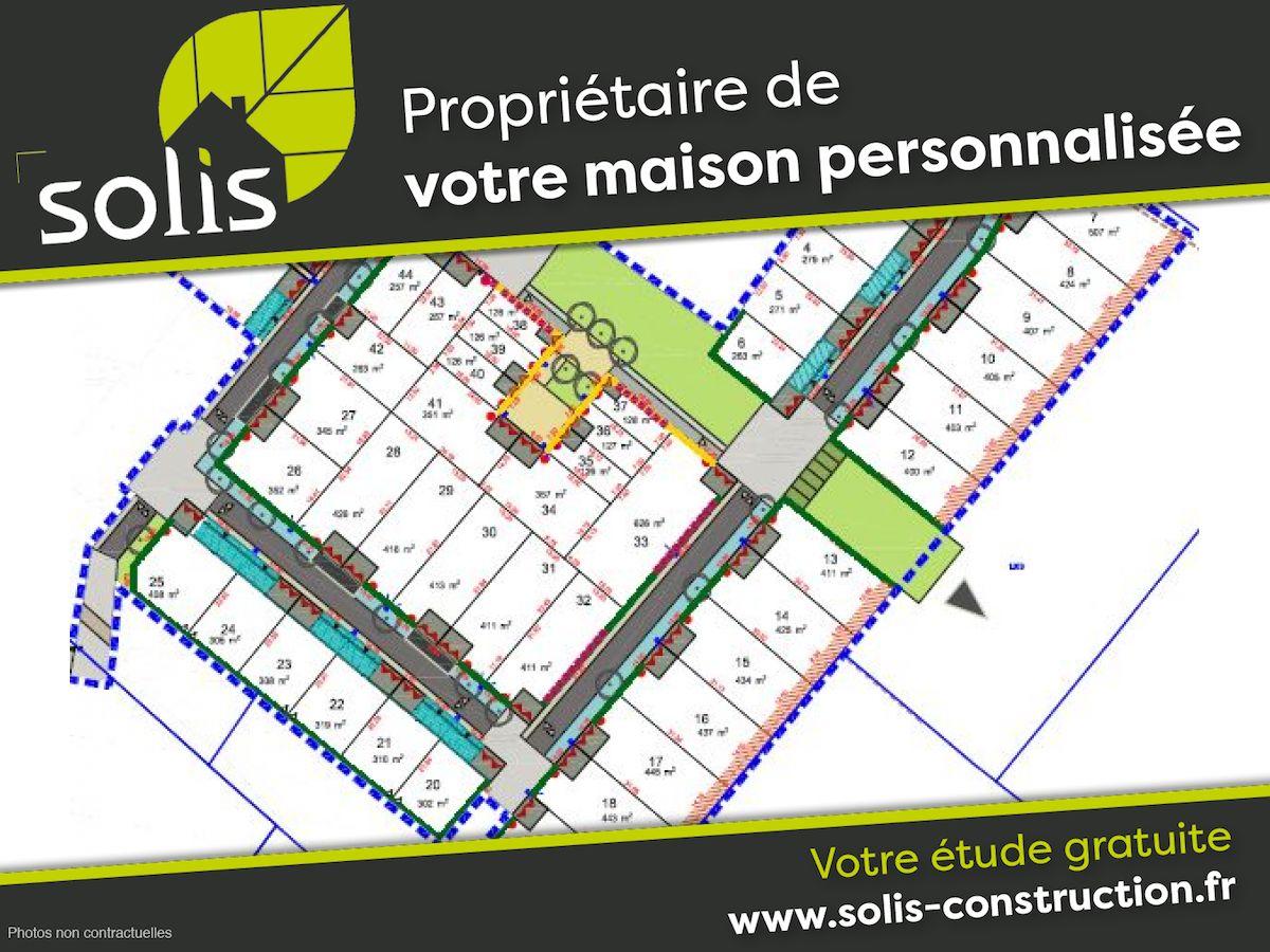 Terrains du constructeur SOLIS CONSTRUCTION - AGENCE DE SAINTES • 416 m² • LE GUA