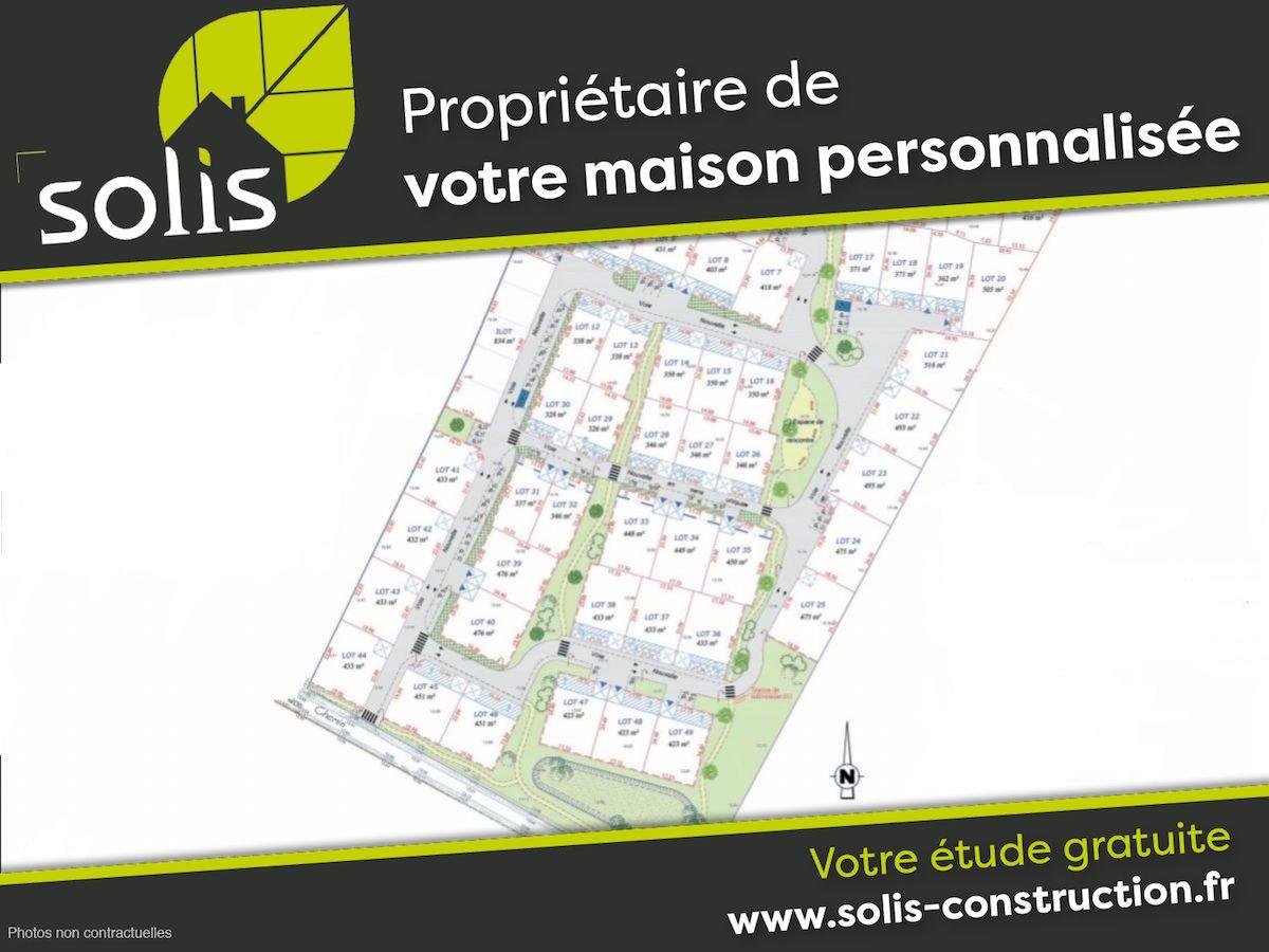 Terrains du constructeur SOLIS CONSTRUCTION - AGENCE DE SAINTES • 430 m² • SAINT SULPICE DE ROYAN