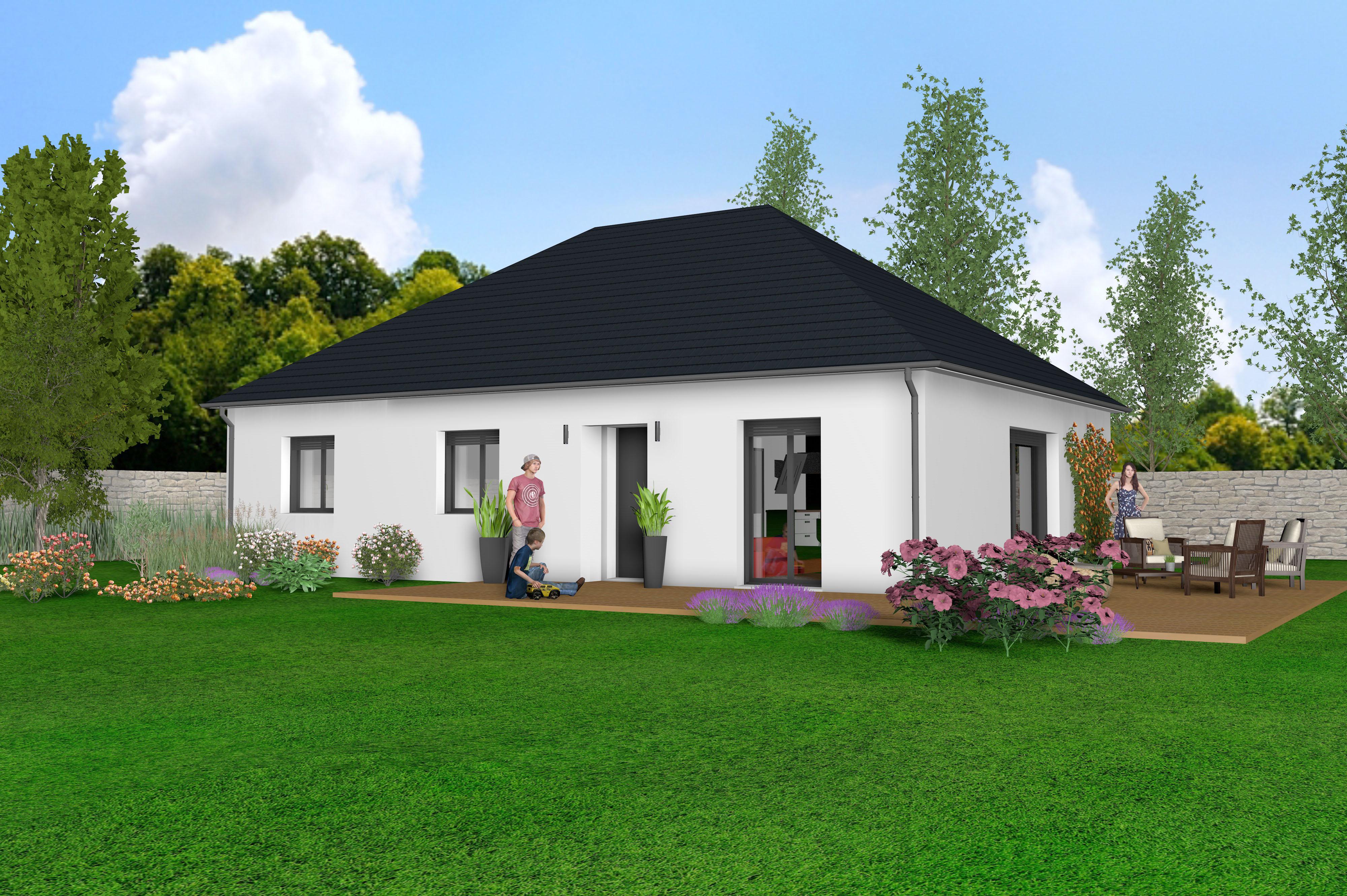 Maisons + Terrains du constructeur MAISONS STILL • 90 m² • LA FERTE SOUS JOUARRE