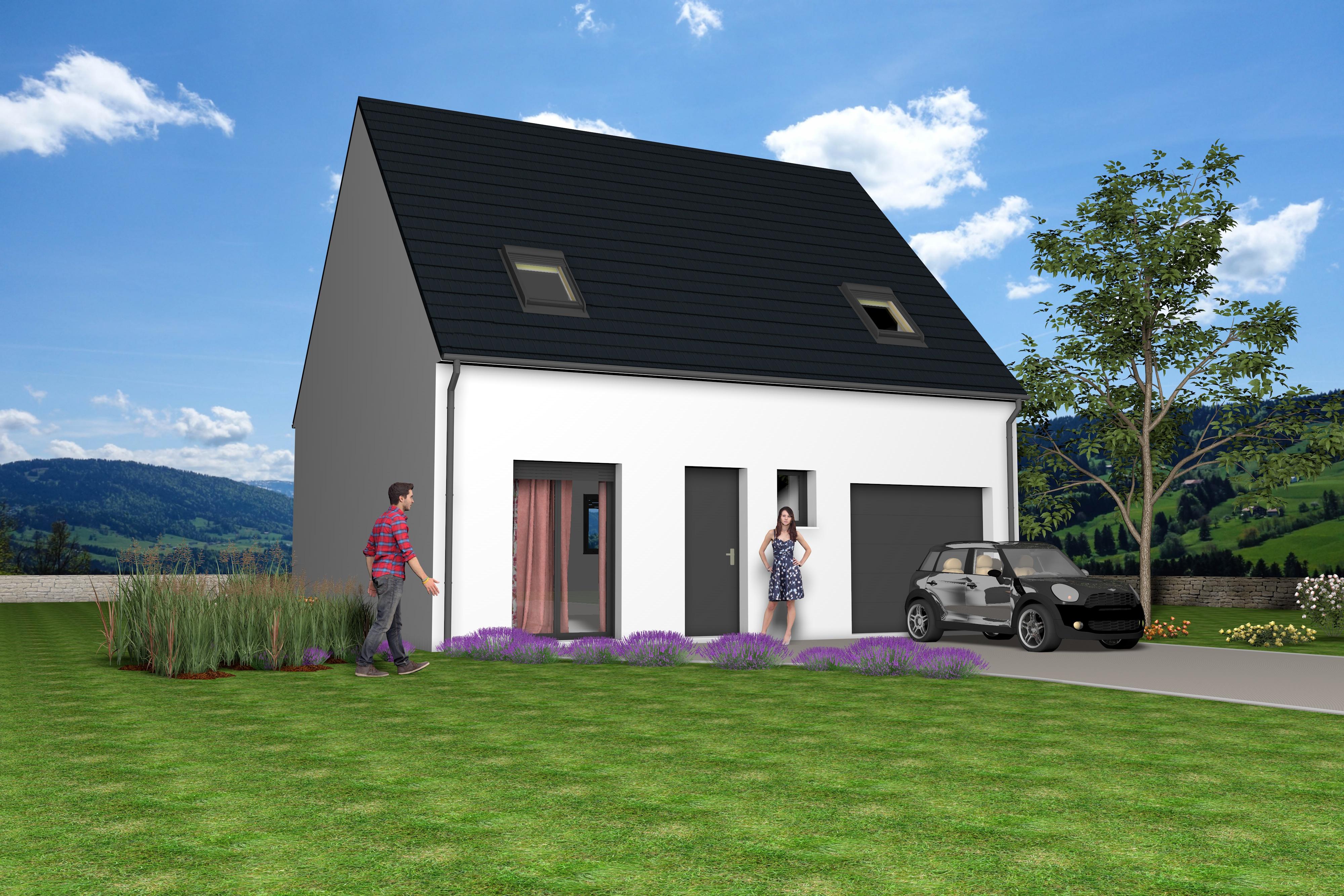 Maisons + Terrains du constructeur MAISONS STILL • 77 m² • LA FERTE SOUS JOUARRE