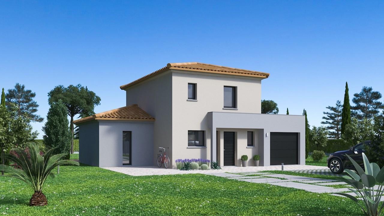Maisons + Terrains du constructeur MAISON FAMILIALE MONTPELLIER • 111 m² • FLORENSAC