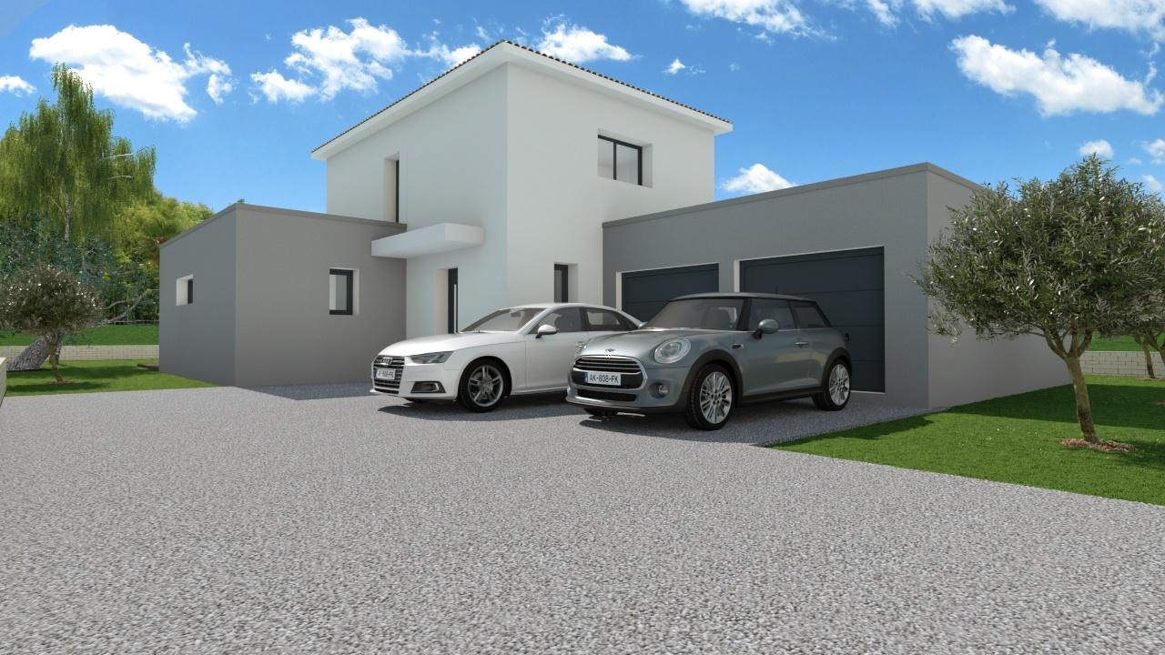 Maisons + Terrains du constructeur MAISON FAMILIALE MONTPELLIER • 128 m² • JACOU