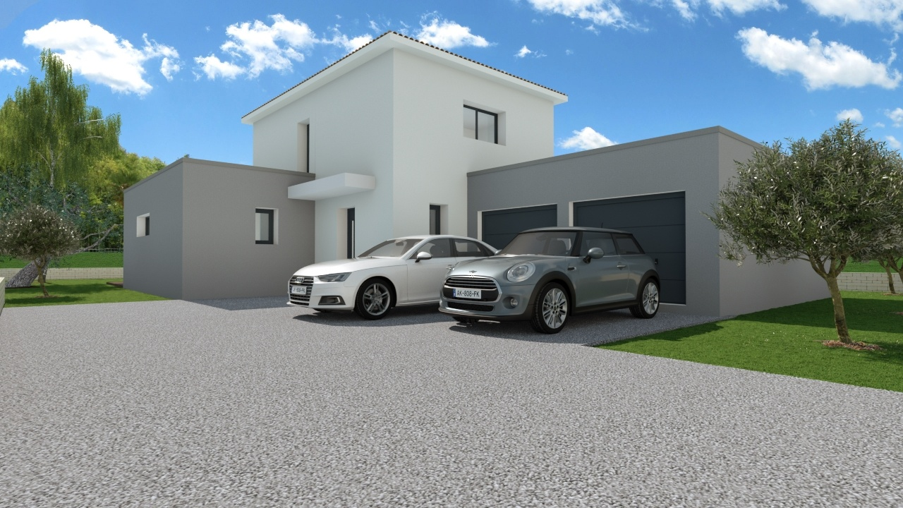 Maisons + Terrains du constructeur MAISON FAMILIALE MONTPELLIER • 128 m² • GRABELS