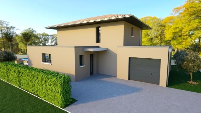 Maisons + Terrains du constructeur MAISON FAMILIALE MONTPELLIER • 128 m² • RESTINCLIERES