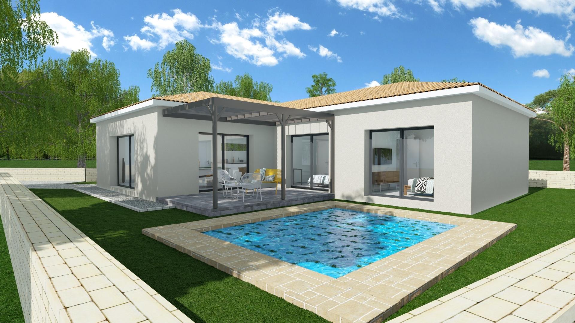 Maisons + Terrains du constructeur MAISON FAMILIALE MONTPELLIER • 95 m² • BEZIERS