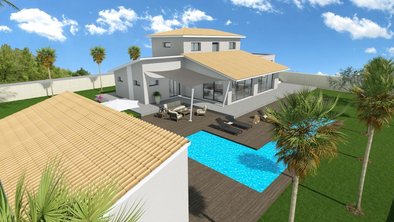 Maisons + Terrains du constructeur MAISON FAMILIALE MONTPELLIER • 143 m² • VIOLS EN LAVAL