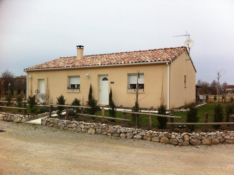 Maisons du constructeur MIKIT • LE FAUGA