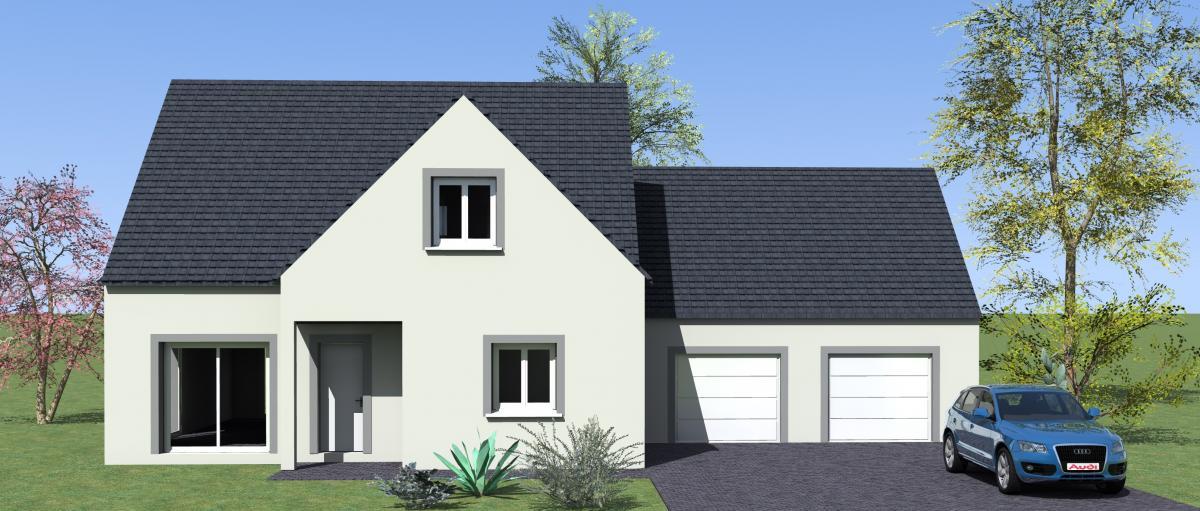 Maisons du constructeur MAISONS VESTALE 78 • 120 m² • VERT LE GRAND