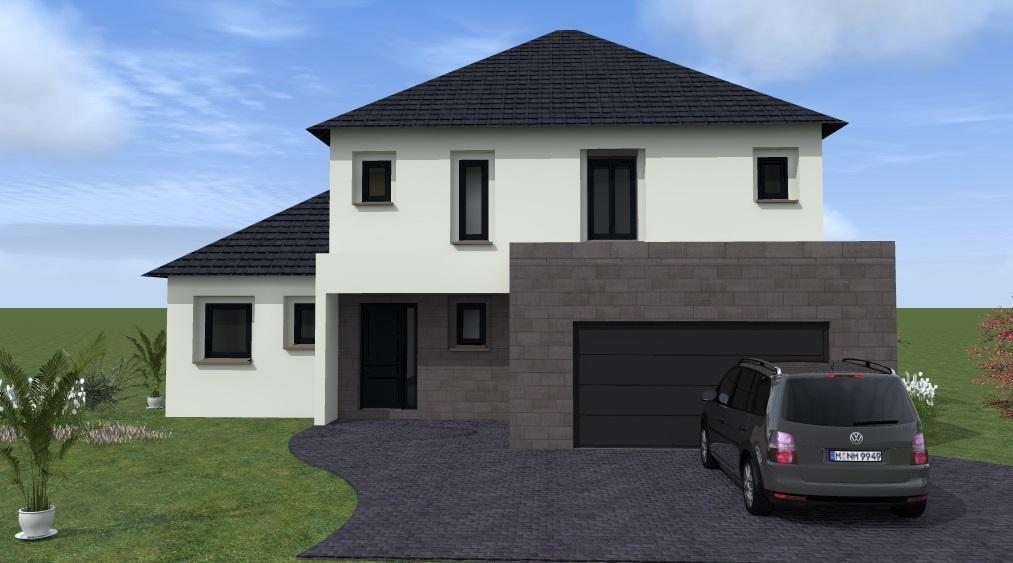 Maisons du constructeur MAISONS VESTALE 78 • 240 m² • BAZOCHES SUR GUYONNE