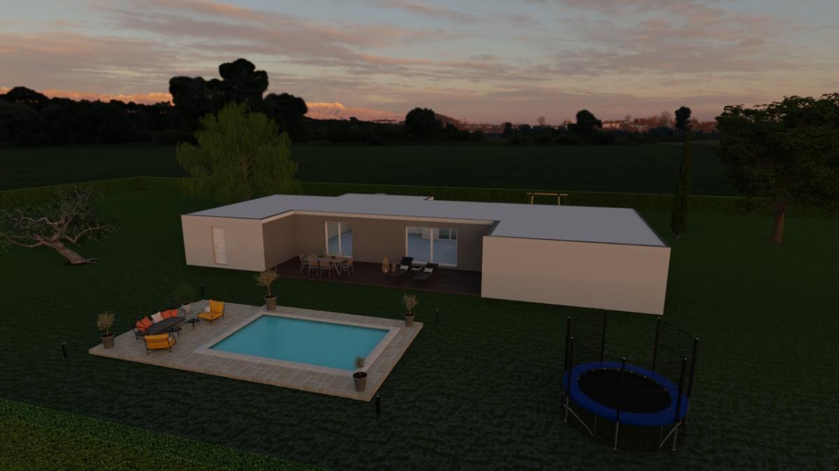 Maisons du constructeur ESQUISS LE POUZIN • 148 m² • LA COUCOURDE