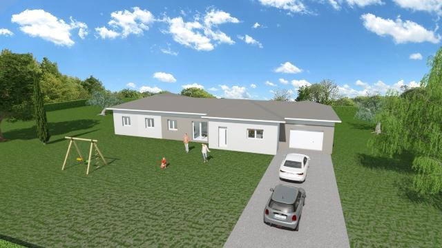 Maisons du constructeur ESQUISS LE POUZIN • 148 m² • LORIOL SUR DROME
