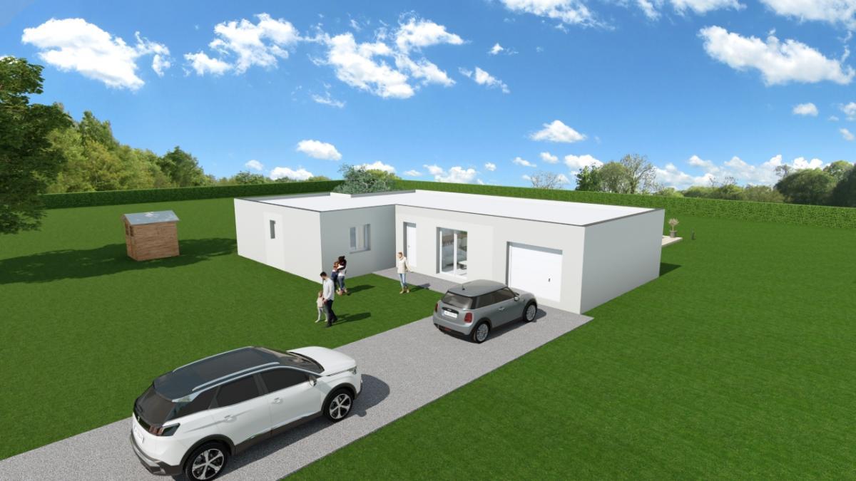 Maisons du constructeur ESQUISS LE POUZIN • 111 m² • ALBOUSSIERE