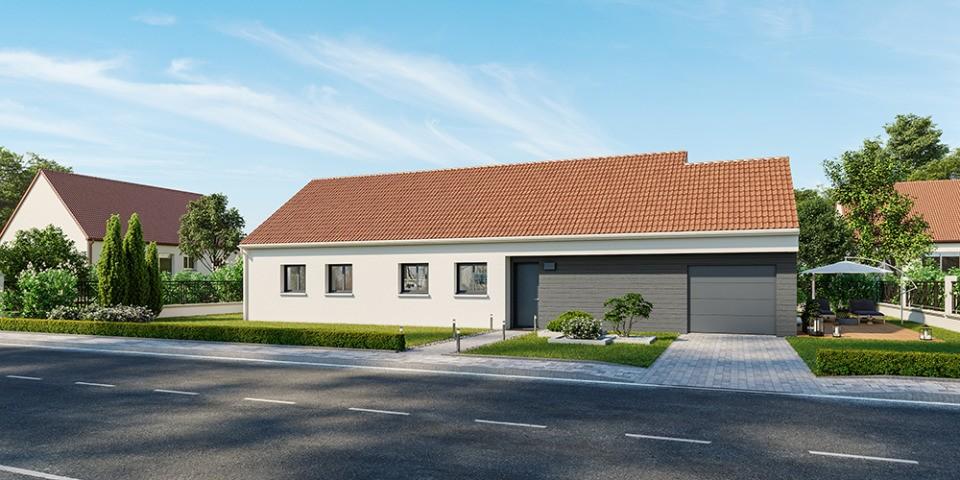 Maisons + Terrains du constructeur MAISONS FRANCE CONFORT • 105 m² • LES PIEUX