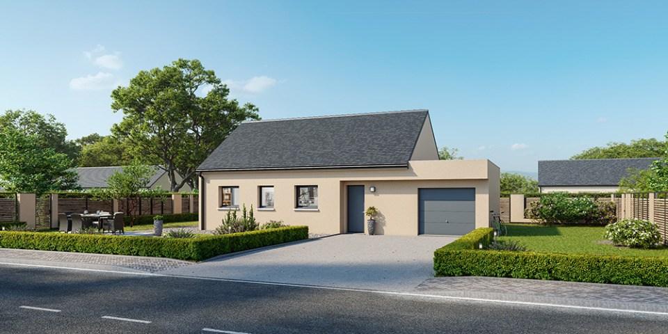 Maisons + Terrains du constructeur MAISONS FRANCE CONFORT • 70 m² • LES PIEUX