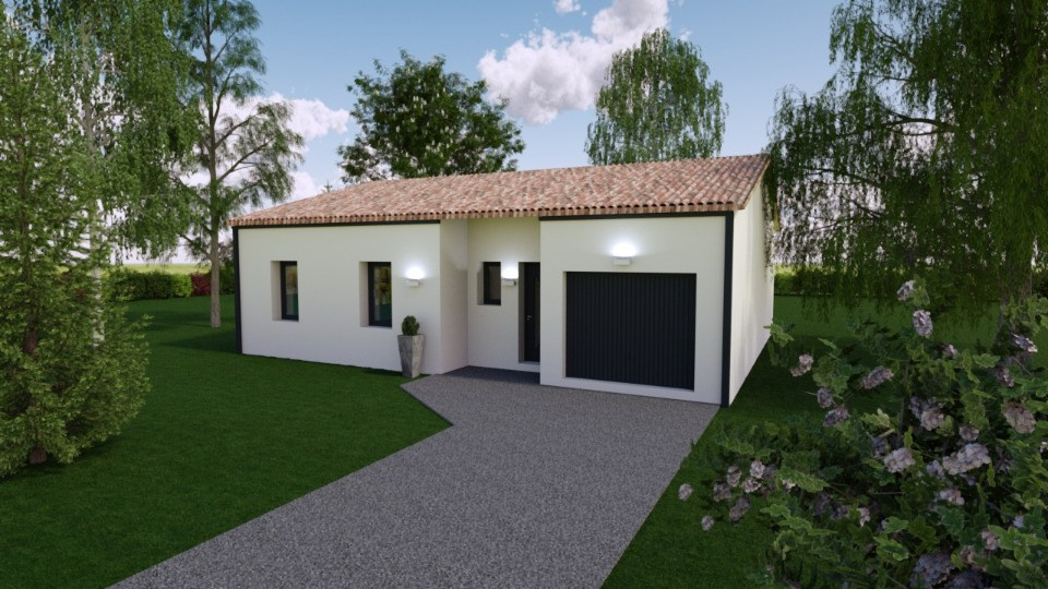 Maisons + Terrains du constructeur BERMAX CONSTRUCTION • 85 m² • BUXEROLLES