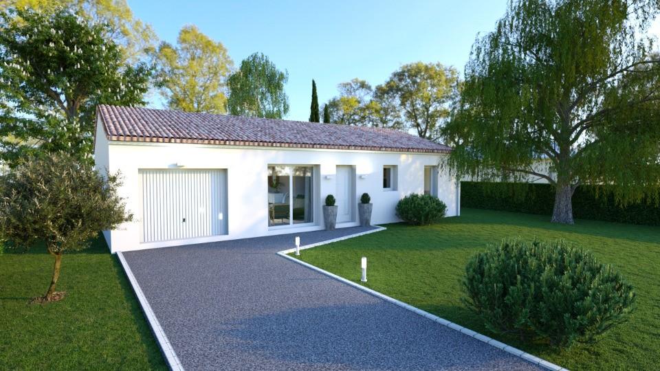 Maisons + Terrains du constructeur BERMAX CONSTRUCTION • 90 m² • BUXEROLLES