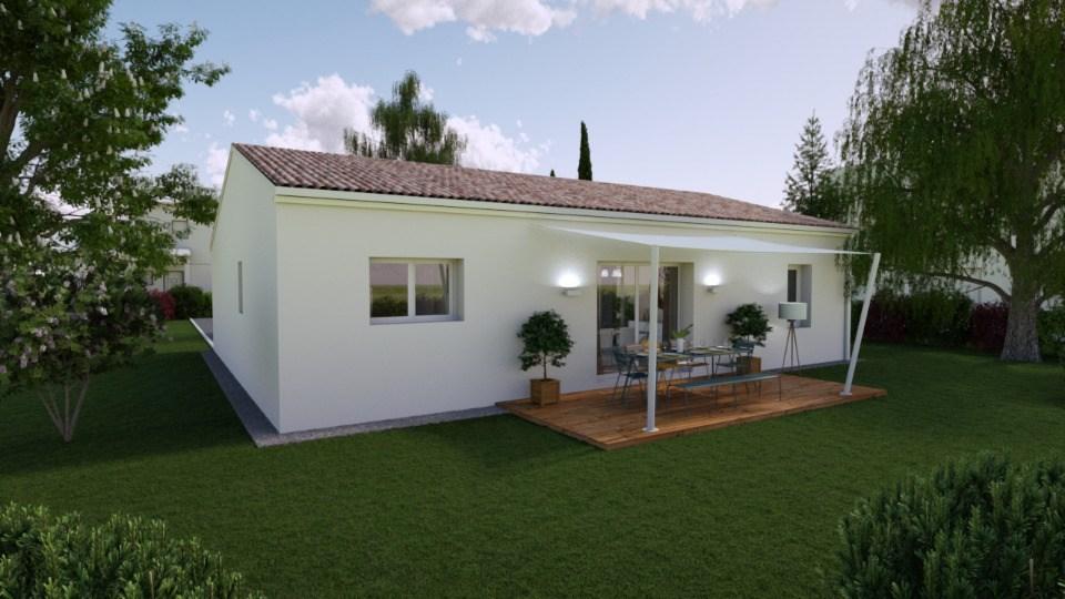 Maisons + Terrains du constructeur BERMAX CONSTRUCTION • 80 m² • BUXEROLLES