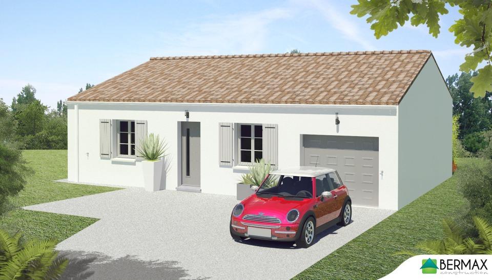 Maisons + Terrains du constructeur BERMAX CONSTRUCTION • 80 m² • VILLIERS