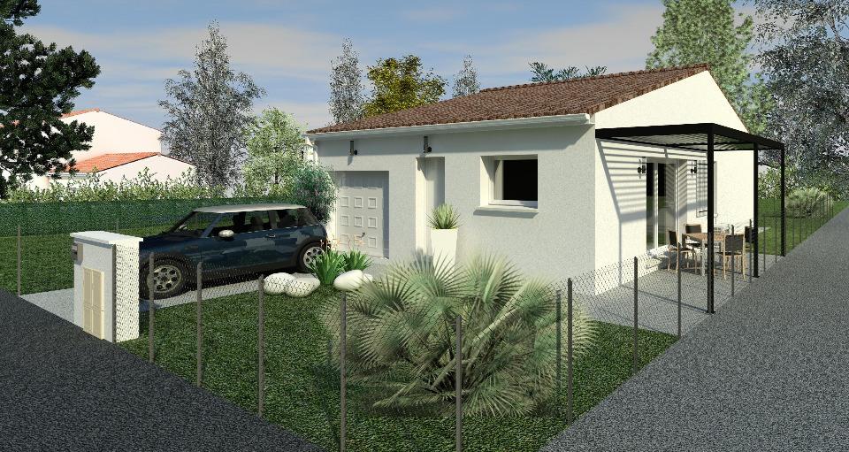 Maisons + Terrains du constructeur BERMAX CONSTRUCTION • 60 m² • SAINT GEORGES LES BAILLARGEAUX