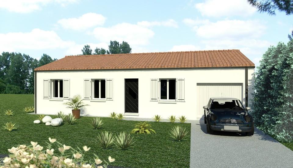Maisons + Terrains du constructeur BERMAX CONSTRUCTION • 80 m² • QUINCAY