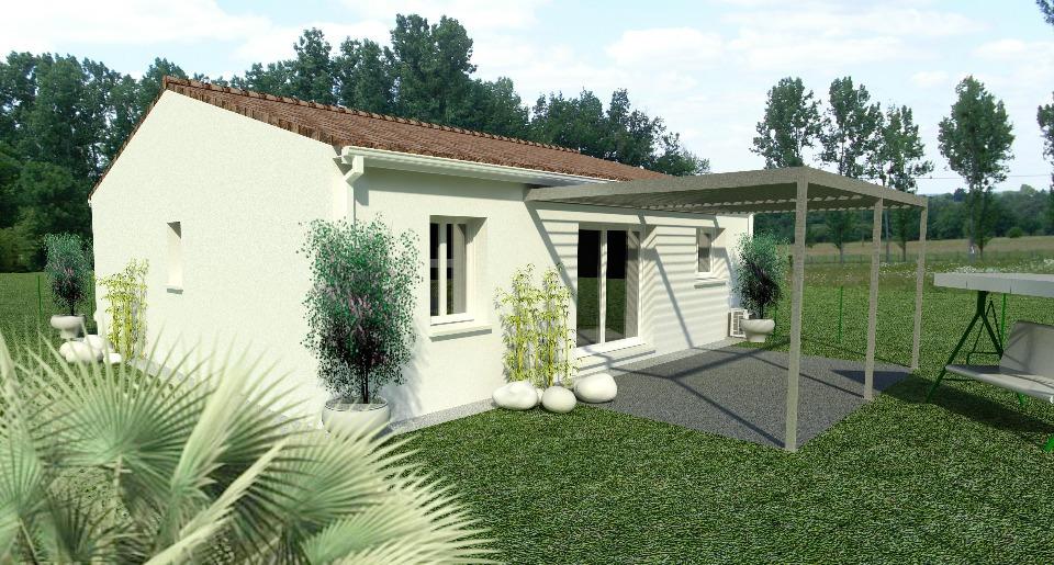 Maisons + Terrains du constructeur BERMAX CONSTRUCTION • 70 m² • NIEUIL L'ESPOIR