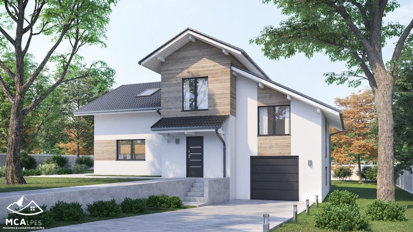 Maisons + Terrains du constructeur M C A Maisons et Chalets des Alpes • 119 m² • CRUSEILLES