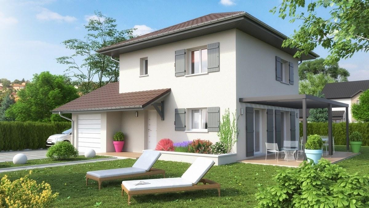 Maisons + Terrains du constructeur M C A Maisons et Chalets des Alpes • 85 m² • CHEVRIER