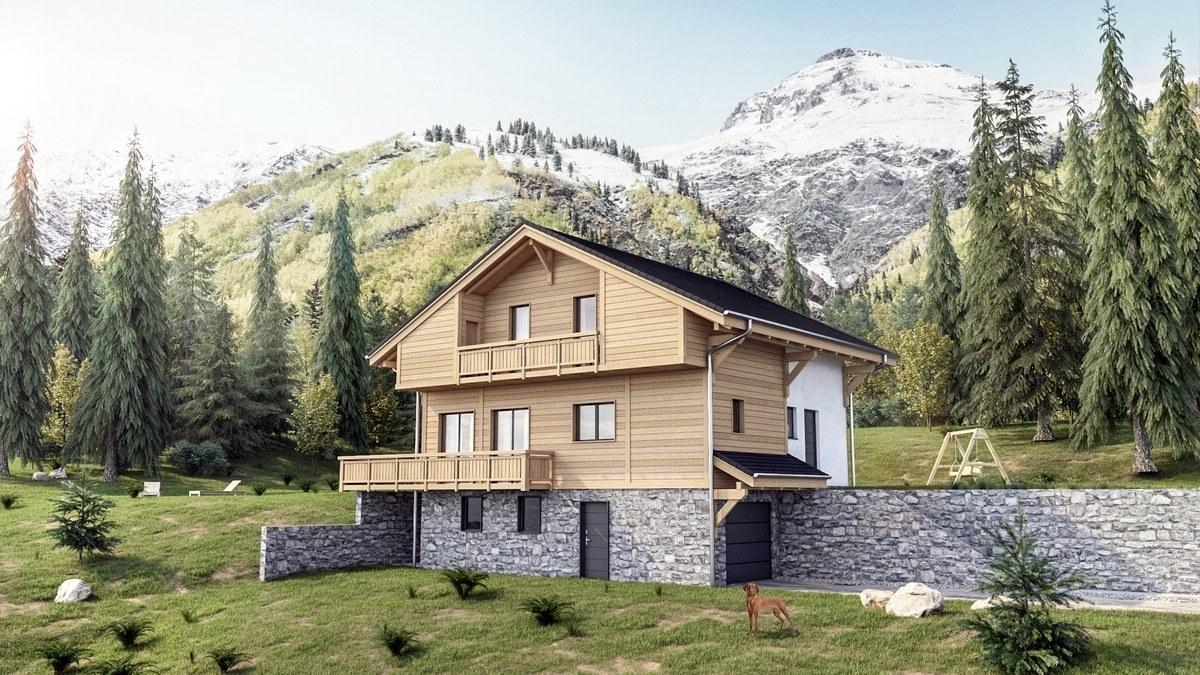 Maisons + Terrains du constructeur M C A Maisons et Chalets des Alpes • 113 m² • THONES